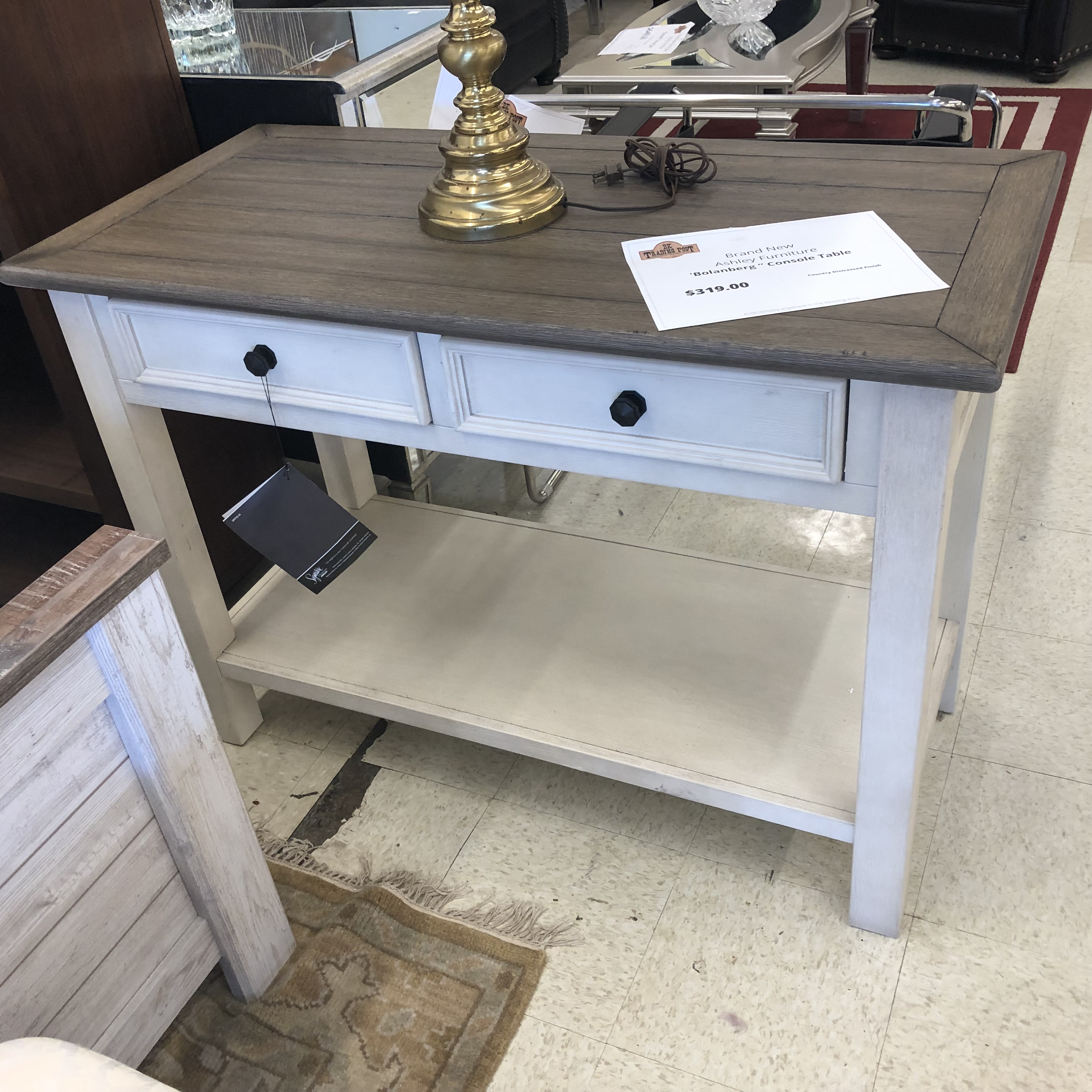 Ashley Furniture Brands: New Furniture : BRAND NEW! Ashley Bolanberg Console Table