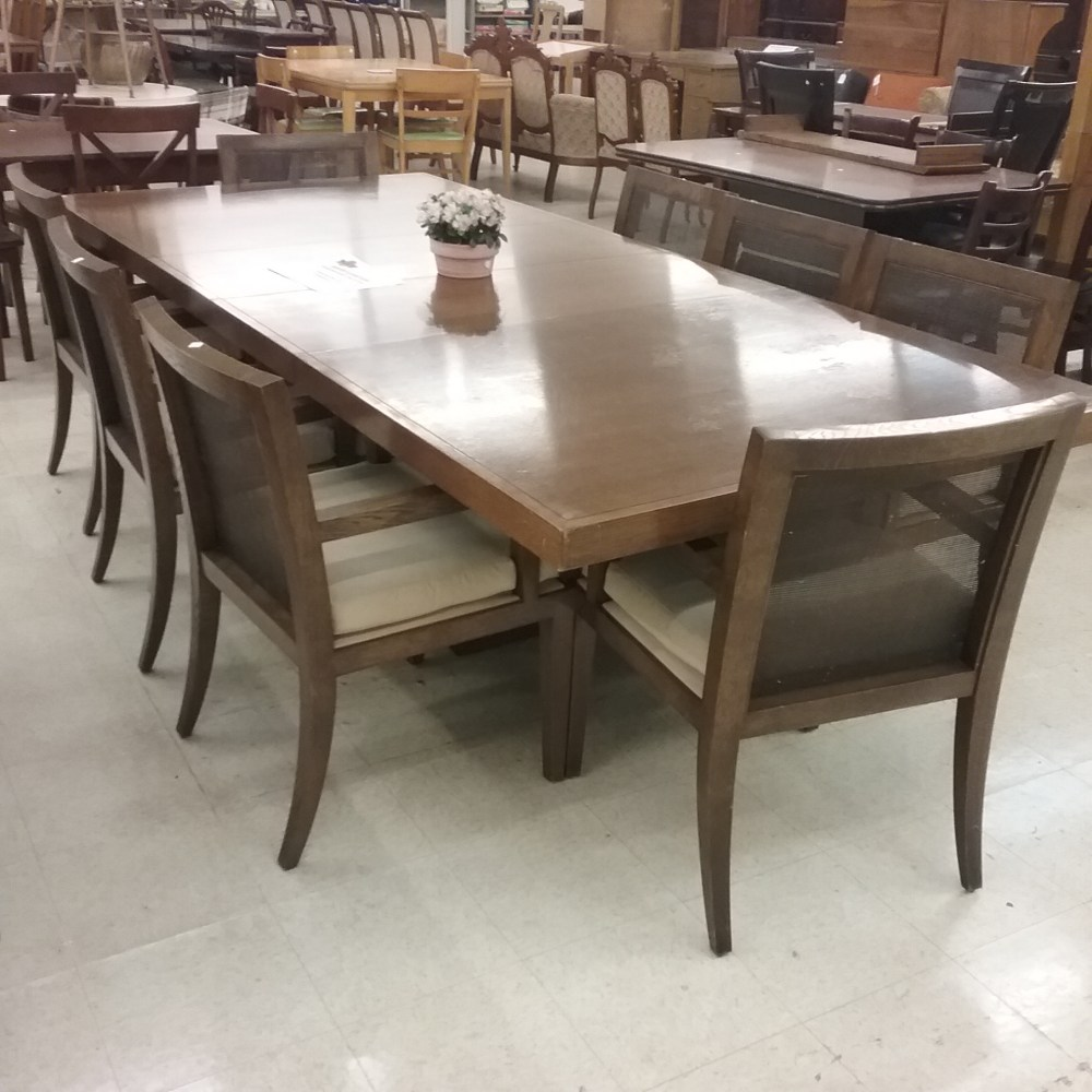 Baker Furniture Barberra Barry Collection Dining Table With Chairs